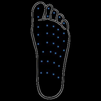 Botox Injektion Fuß gegen Schwitzen